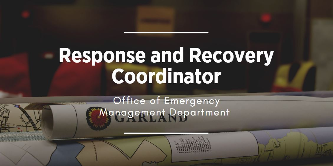 Link to Recovery and Response position