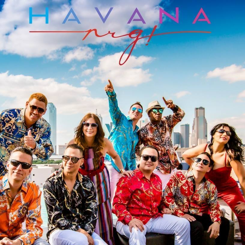HavanaNRG band picture with logo