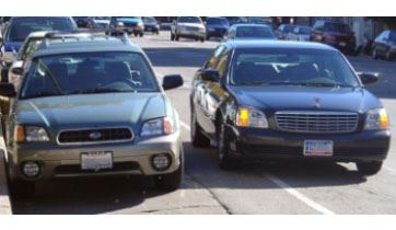 example of double parking