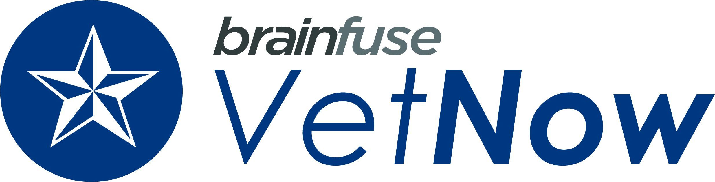 Logo for Brainfuse's VetNow